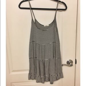 Striped Swing Dress Size S (bathing suit cover)